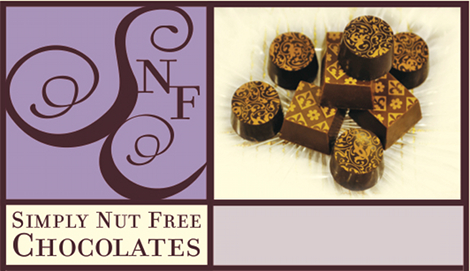 Hand-Crafted Nut Free Chocolates